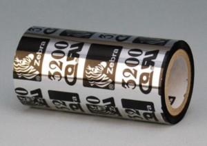 Zebra ZipShip 3200, thermisch transfer lint, wax/resin, 110mm
