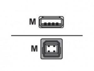 Zebra KIT,USB Interface Cable,10FT (