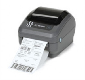 Zebra GK420d rev2, 8 dots/mm (203 dpi), EPL, ZPL, USB, printserver (ethernet)