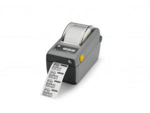 Zebra ZD410, 12 dots/mm (300 dpi), MS, RTC, EPLII, ZPLII, USB, BT (BLE, 4.1), Wi-Fi, dark grey
