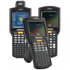 Zebra MC3200 Standard, 1D, BT, WLAN, num., disp., WEC 7