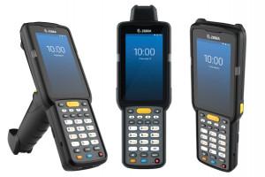 Zebra MC3300 Premium, 2D, SR, USB, BT, Wi-Fi, NFC, Func. Num., Gun, PTT, Android