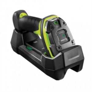 Zebra LI3678-ER, BT, 1D, ER, multi-IF, FIPS, kabel (USB), zwart, groen