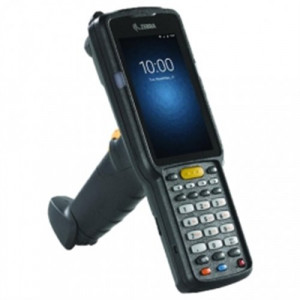 Zebra MC3330R, 2D, SR, USB, BT, Wi-Fi, Func. Num., Gun, RFID, IST, PTT, GMS, Android